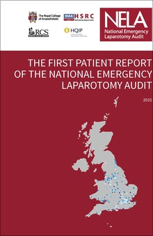 The First Patient Report of the National Emergency Laparotomy Audit - COVER