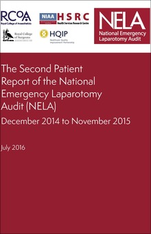 The Second Patient Report of the National Emergency Laparotomy Audit 2016 - COVER